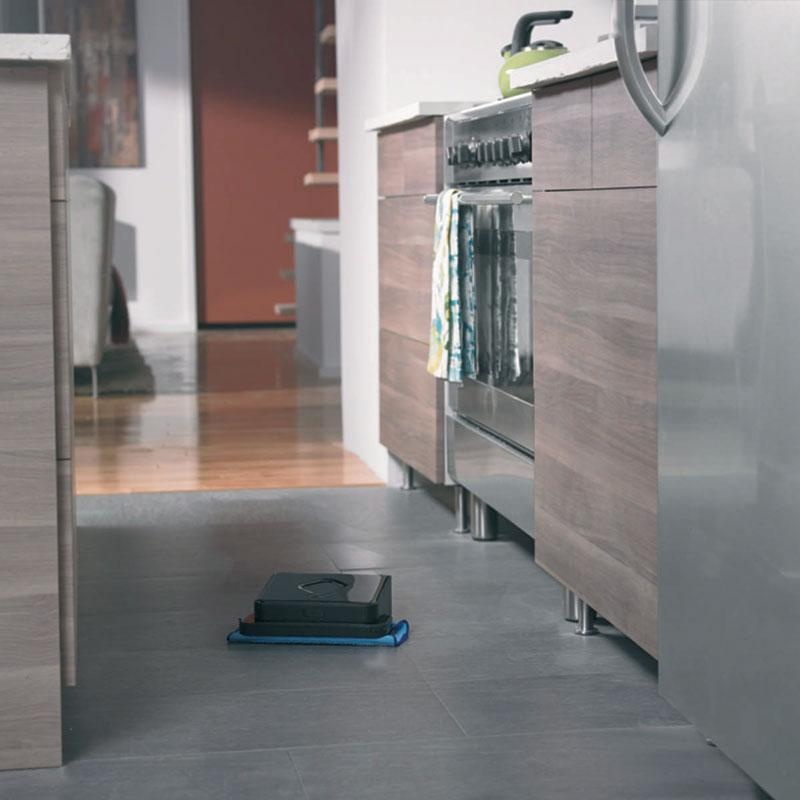 Braava 380T In And Around Kitchen Floor And Appliances