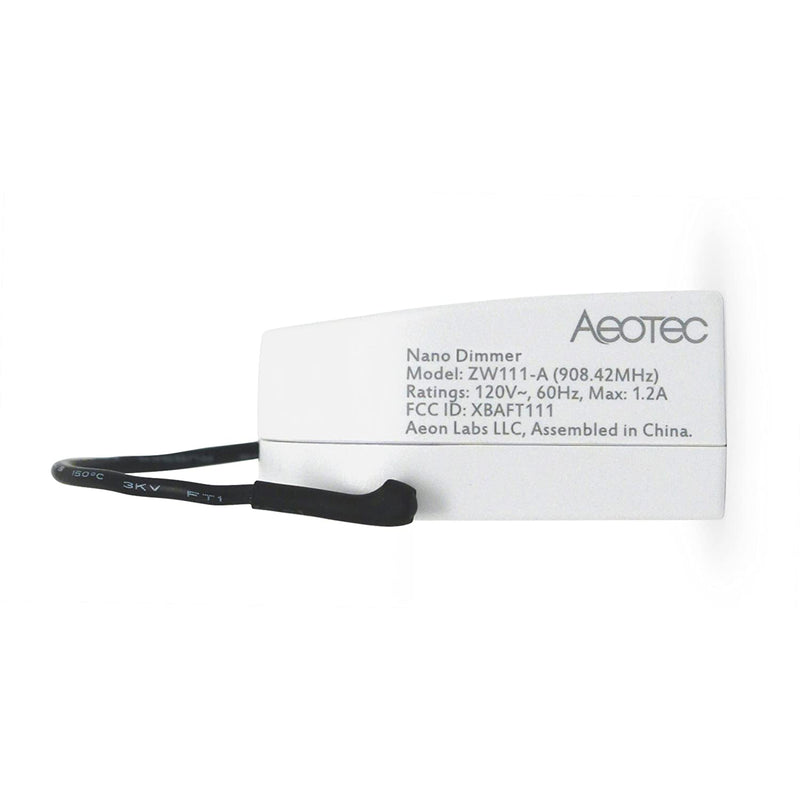 Aeotec Z-Wave Plus In-Line Nano Dimmer
