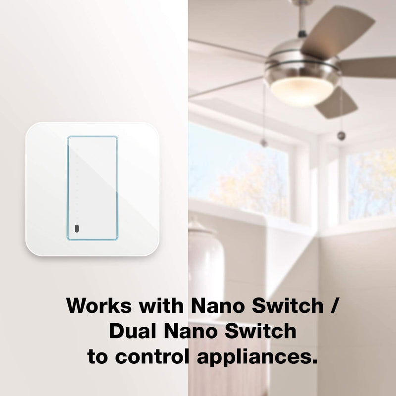 Aeotec Z-Wave Plus WallSwipe Wall Panel Controller with Slider an Built-in PIR Sensor