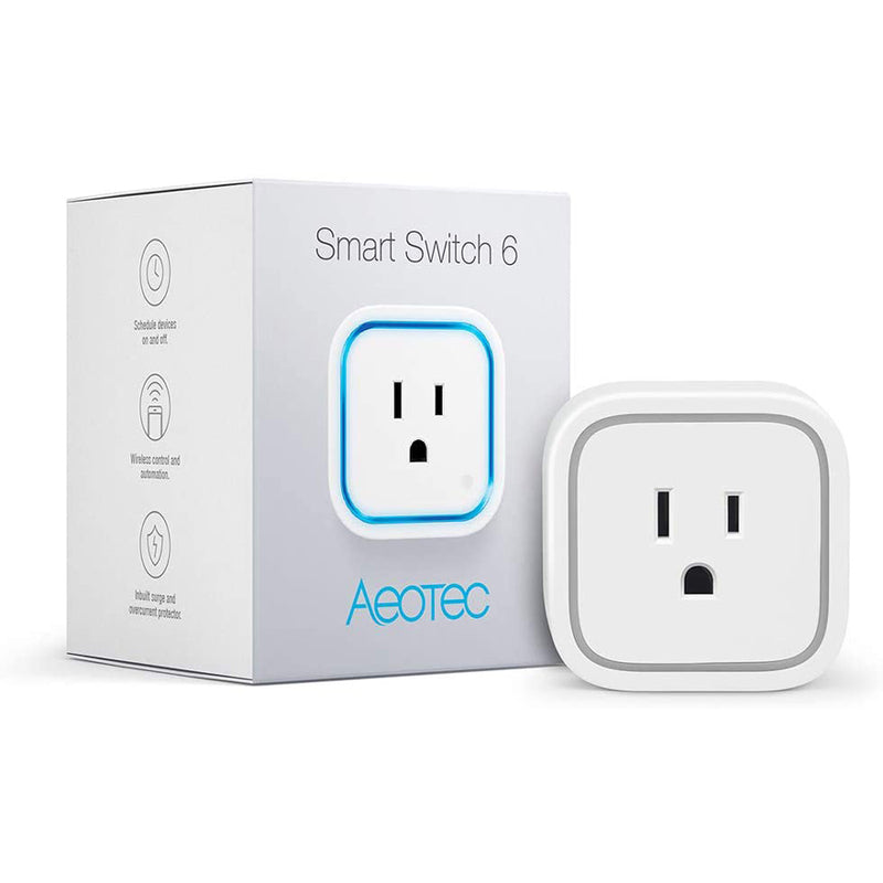 Aeotec Z-Wave Plus Plug-in Smart Switch