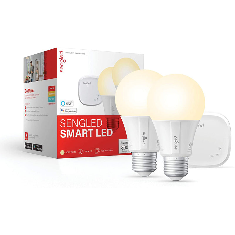 Sengled Zigbee Dimmable Smart LED Light Bulb, Hub Required - A19