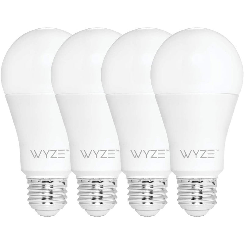 Wyze WiFi Smart Dimmable LED Light Bulb, No Hub Required - A19 - Tunable White