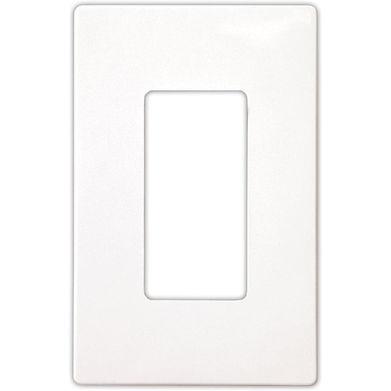 Eaton Arrow Hat Decorative Screwless Wall Plate - 1-Gang