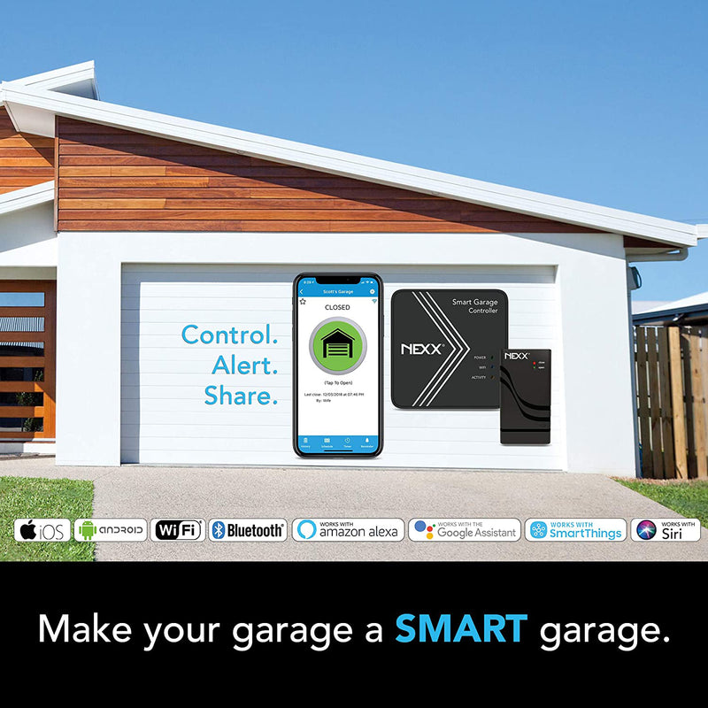 Nexx Smart Wi-Fi Garage Door Opener