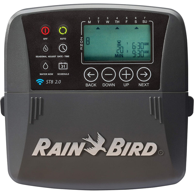 Rain Bird 2.0 Smart Indoor WiFi Sprinkler/Irrigation System Timer/Controller
