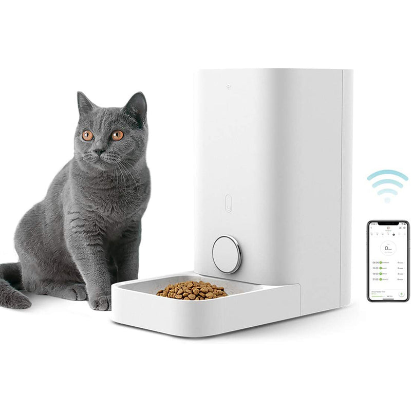 PETKIT Wi-Fi Enabled Smart Feed Automatic Pet Feeder and Dispenser for Cats and Small Dogs