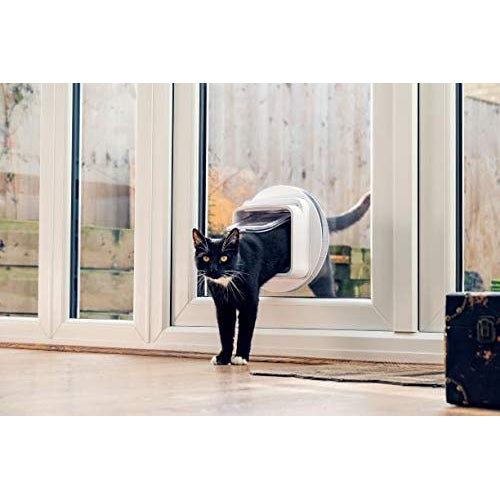 SureFlap Microchip Automated Cat Door with Hub