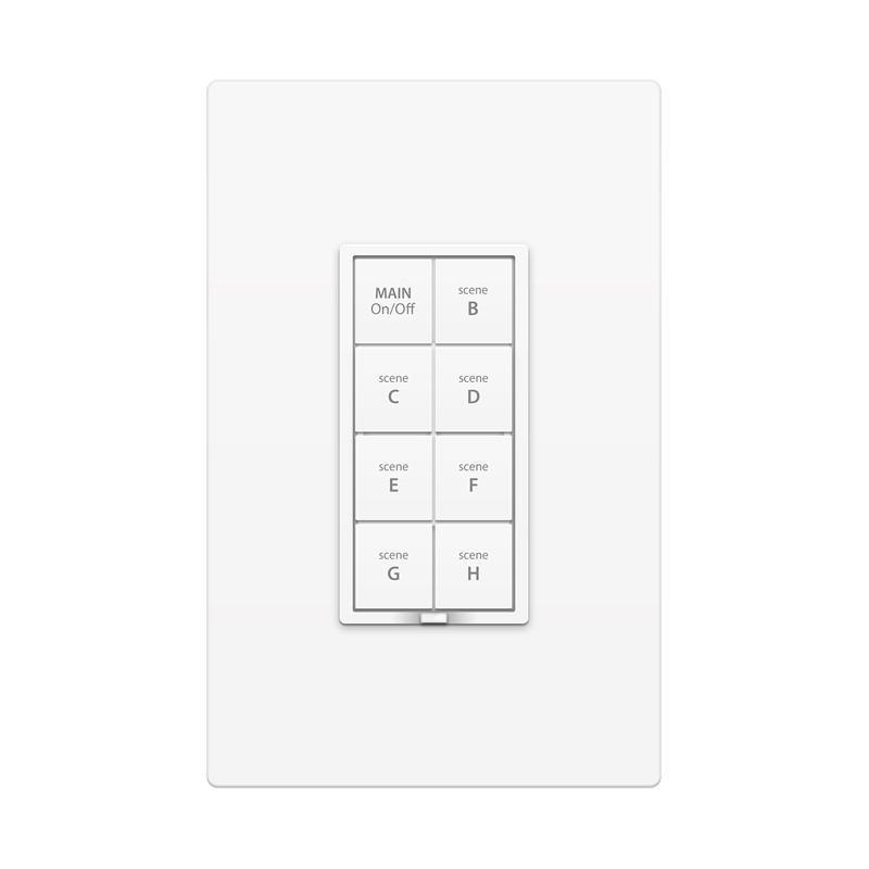 Insteon Remote Control Dimmer Keypad, 8-Button