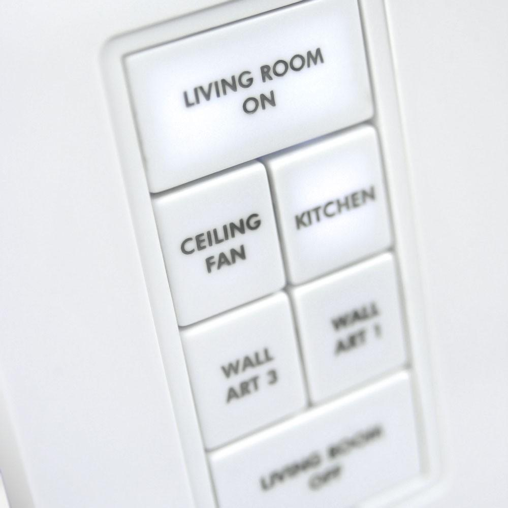 Insteon Custom-Etched Button Change Kit for Insteon Keypads