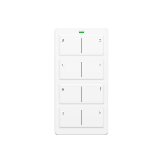 Insteon Mini Remote Control Keypad, 8-Scene