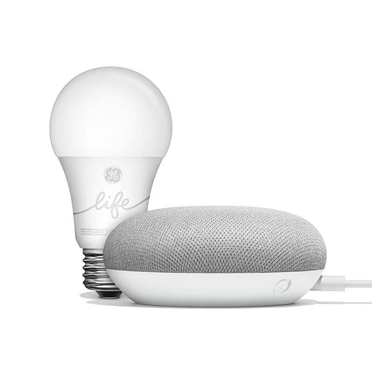 Google Smart Light Starter Kit with Google Assistant - Chalk