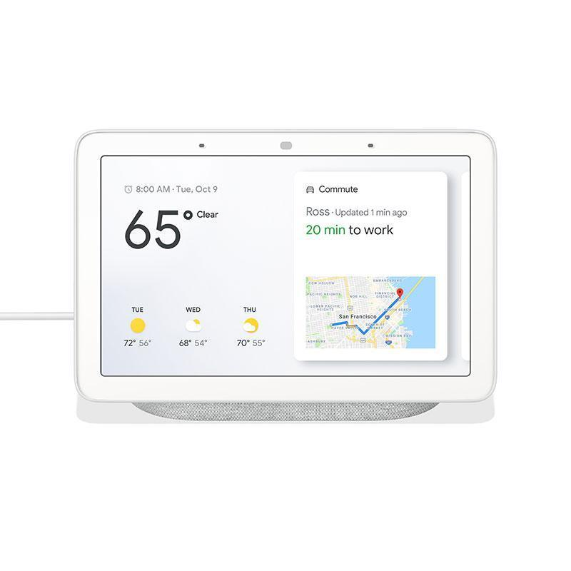"Google Home Hub Smart Speaker with Google Assistant and 7"" Display"