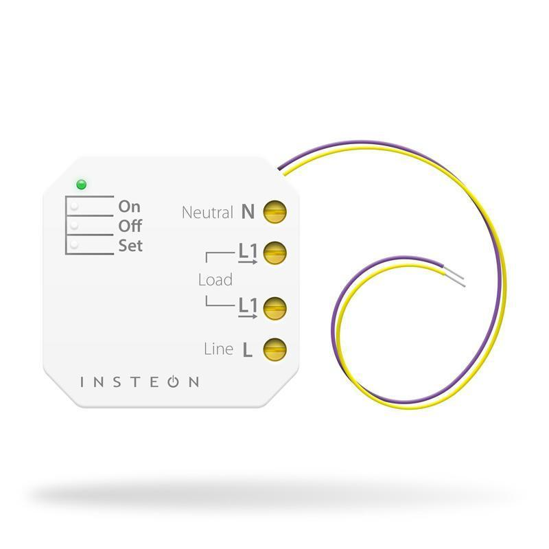 Insteon Remote Control Micro On/Off Switch Adapter