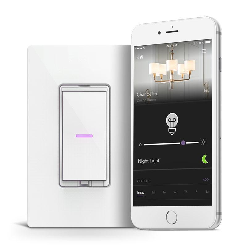 iDevices Smart WiFi Dimmer Switch, No Hub Required
