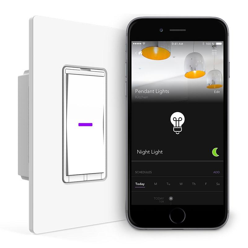 iDevices Smart WiFi Wall Light Switch, No Hub Required