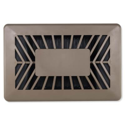 ecoVent Smart Venting Temperature Control – Floor Vent, Brown