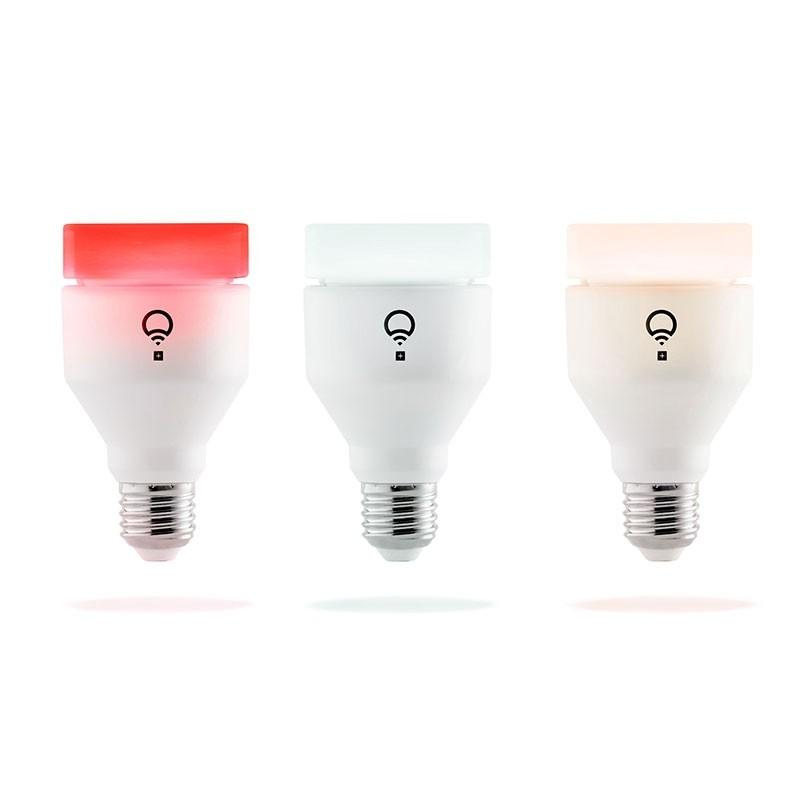 LIFX+ App Controlled Wi-Fi Smart LED Light Bulb, A19