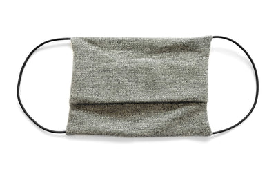 Heather Grey Cloth Face Mask