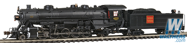 Spectrum N Canadian National USRA Light 2-10-2 Steam Loco (DCC) #4201