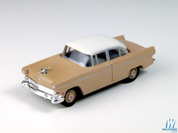 HO 1955 Ford Customline Sedan, Buckskin Brown