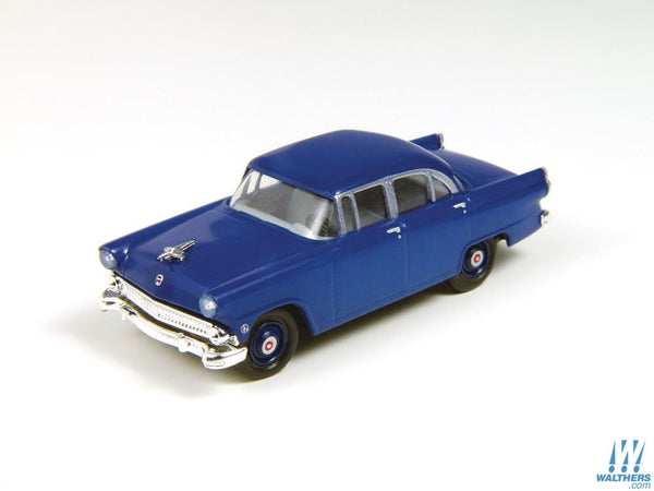 HO 1955 Ford Mainline Sedan, Banner Blue