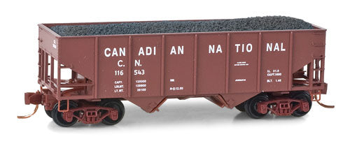 Micro-Trains N Canadian National 33' Twin Bay Hopper 056-00-432