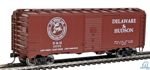 Walthers MainLine HO D & H 40' AAR Boxcar