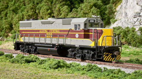 Atlas HO Algoma Central GP38-2 Diesel Loco #204 with DCC and Sound