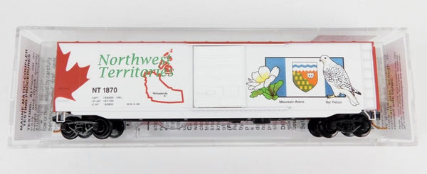 Micro-Trains Line N Northwest Territories 50' Standard Box Car