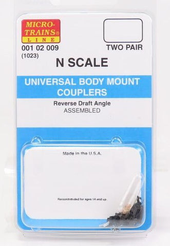 Micro-Trains N Scale Universal Body Mount Couplers #1023