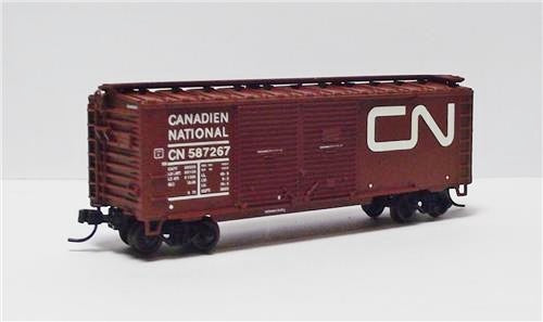 Atlas Trainman N Canadian National 40' Double Door Box Car 50001273