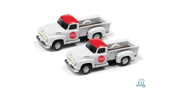 Mini Metals N Scale Coca-Cola 1954 Ford Pickup 50394