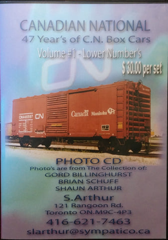 Canadian National Volume 1 and 2 Photo CD - Lowest Number's to Higher Number's