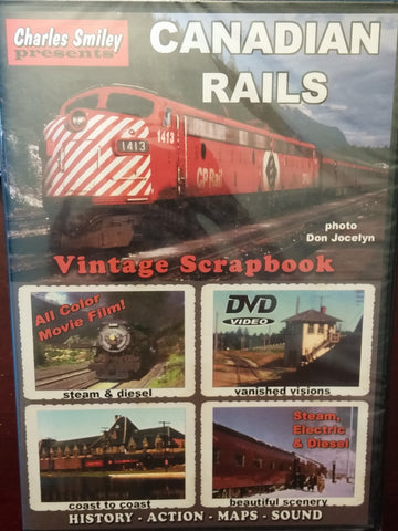 Canadian Rails Vintage Scrapbook
