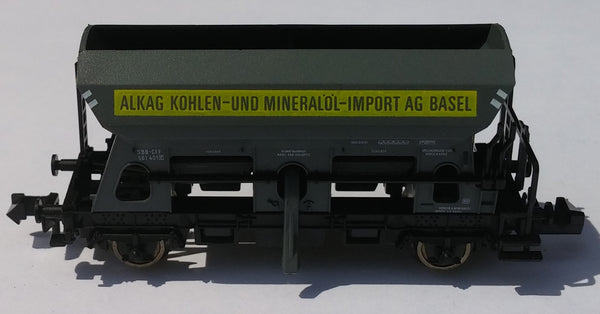 N Fleischmann Coal and Mineral Oil Car 8511