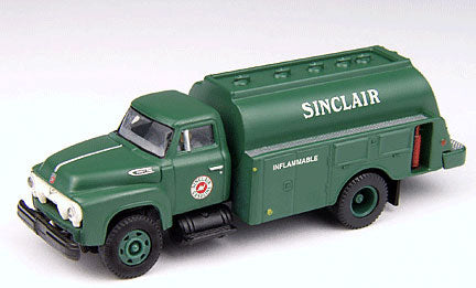 HO Mini Metals '54 Ford F-700 Fuel Delivery Truck Sinclair Oil 30232
