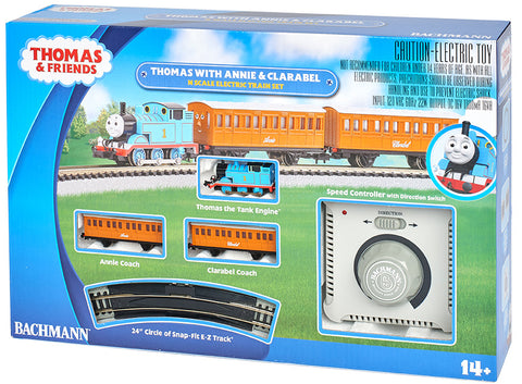 N Bachmann Thomas with Annie & Clarabel Electric Train Set #24024