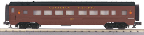 O MTH Rail King Canadian Pacific 60' Streamlined Coach Car 30-67342