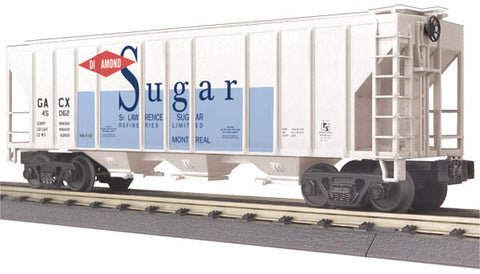 O MTH RailKing St. Lawrence Sugar Ps-2 Discharge Hopper Car