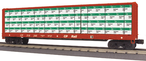 M.T.H RailKing CP Rail Centre l-Beam Flat Car 30-76421