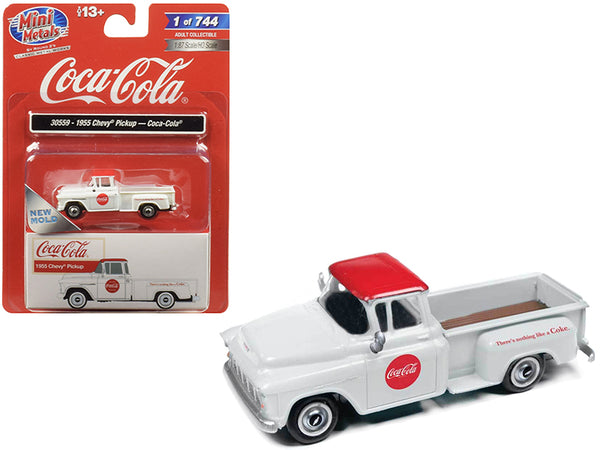 Mini Metals HO Scale Coca-Cola 1955 Chevy Pickup 30559