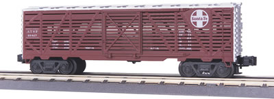 MTH Rail King Rugged Rails Sants Fe Stock Car 33-7704