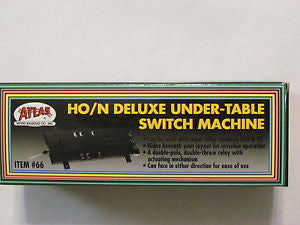 Atlas HO/N Delux Under-Table Switch Machine #66
