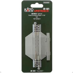 "Kato N Scale 4 7/8"" Road Crossing Track #20-021"