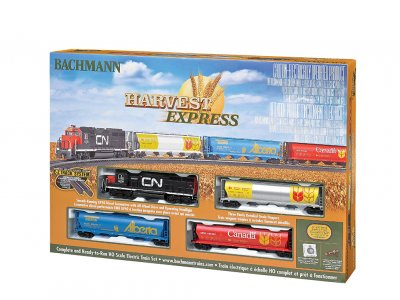 HO Bachmann Harvest Express Train Set