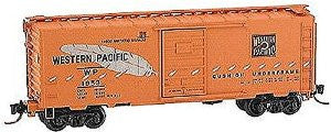 N Micro-Trains Western Pacific 40' Standard Box Car #WP1952
