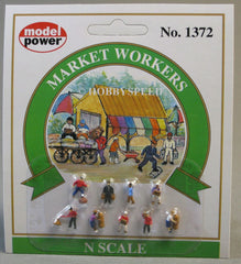 N Model Power Market Workers No. 1372