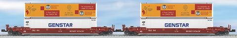 Lionel O COE Rail Husky Stack 2-Pack #5541 #5542