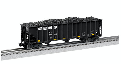 O Lionel Norfolk Southern Die-Cast 3-Bay Open Hopper 6-27457