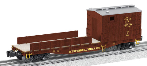 Lionel O West Side Lumber Scale Work Caboose #8